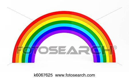 イラスト 虹 虹のイラスト素材