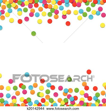 clipart of confetti celebration background k20142944 search clip rh fotosearch com clipart confetti background clipart confetti background