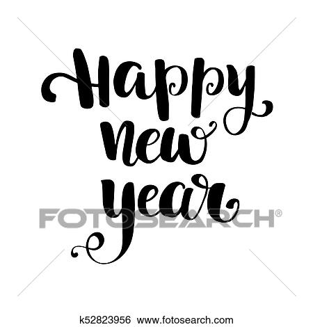 Happy New Year Lettering 72