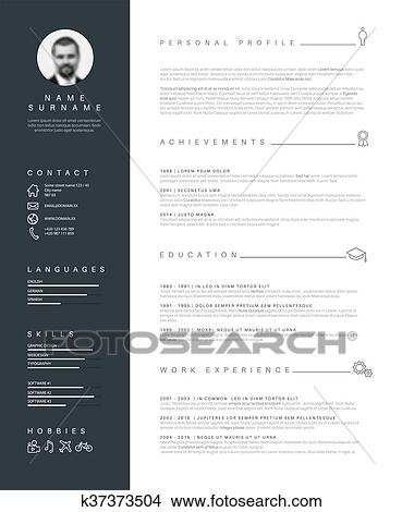 Nice Cv Template from fscomps.fotosearch.com