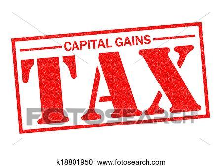stock illustrations of capital gains tax k18801950 search clipart rh fotosearch com Clip Art No Pain No Gain Grunge Clip Art