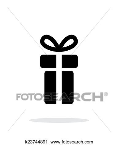 Clipart Of Small Gift Box Icons On White Background Vector