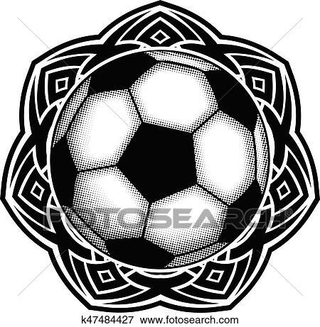 Clip Art Of Ballonpattern K47484427