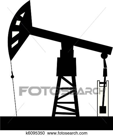 clipart of oil rig k6095350 search clip art illustration murals rh fotosearch com oilfield clipart personalized oilfield worker clipart
