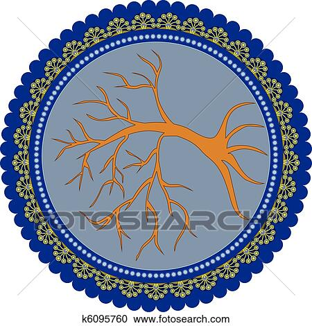 clipart of tree of life k6095760 search clip art illustration