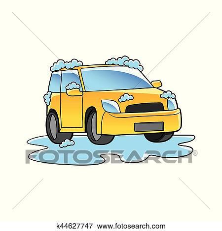 clip art of car wash k44627747 search clipart illustration