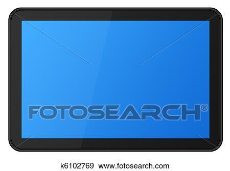 banque de photographies cran tactile tablette xxl k6102769 recherchez des photos des. Black Bedroom Furniture Sets. Home Design Ideas