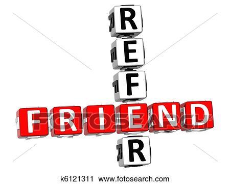 3d Verweisen A Spezi Kreuzworträtsel Clip Art