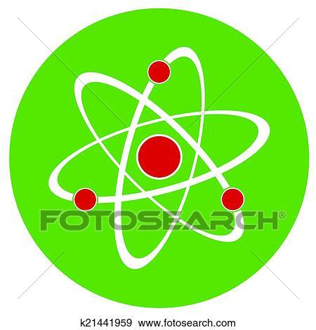 Atom zeichen