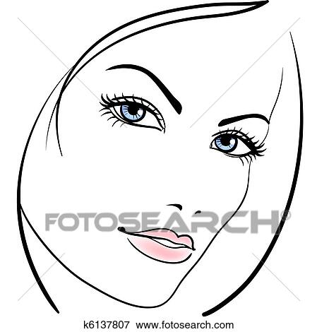 Get Inspired For Girl Face Vector Art
