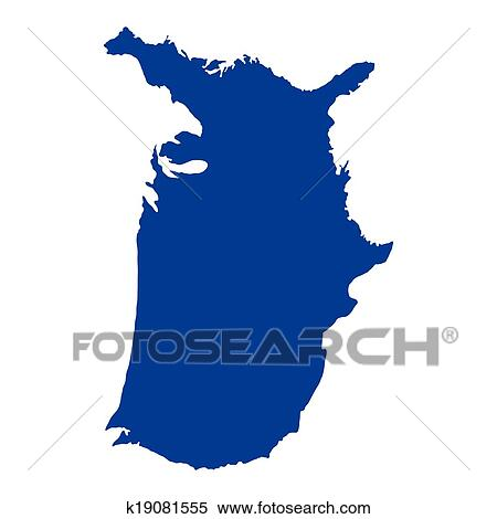 United States Of America Map Clipart K19081555