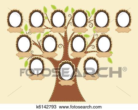 Clipart Arbre Genealogique K6142793 Recherchez Des Clip Arts