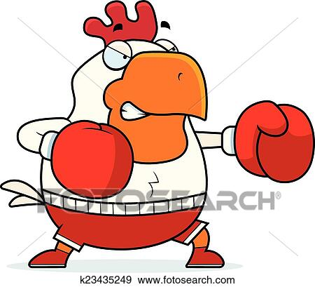clip art of cartoon rooster boxing k23435249 search clipart rh fotosearch com boxing clipart girl boxing clipart png