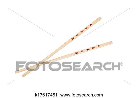 Stock Photography Of Crossed Chopsticks With The Chinesejapanese