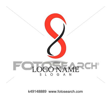 Clip Art Infinity Logo And Symbol Template Icons Fotosearch Search Clipart