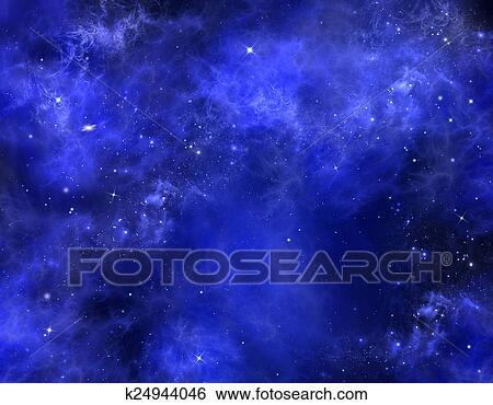 Stellato Cielo Notte Archivio Fotografico K24944046 Fotosearch