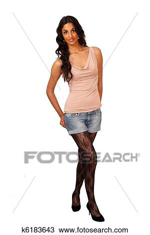 Stock Photo Tall Sexy Indian Girl Fotosearch Search Stock Images Poster Photographs
