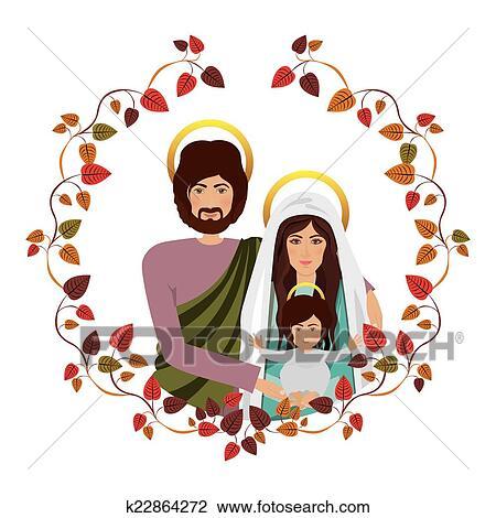 キリスト教 デザイン クリップアート切り張りイラスト絵画集
