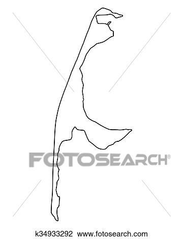 Landkarte, von, australia., echidna, schnabeltier, straussvogel, emu,  tasmanischer teufel, kakadu, papagai, wombat, schlange, schildkröte,  krokodil, känguruh, dingos, oktopus, fish., vektor Clipart   k32148180    Fotosearch