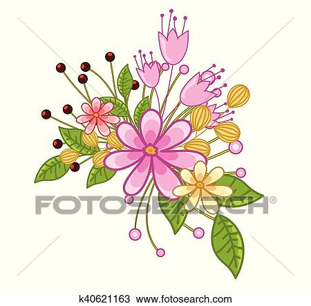 Fresh Flowers Clip Art
