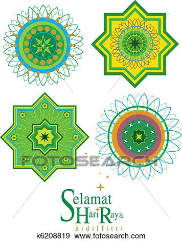 Stock Vector Illustration:Vector Islamic Pattern