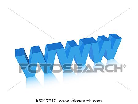 clip art of 3d www k6217912 search clipart illustration posters