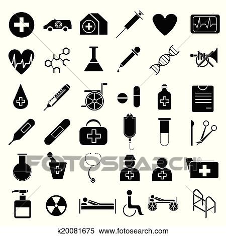 Medical equipment vector Clipart | k20081675 | Fotosearch