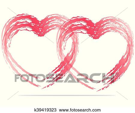 Doves With Heart Clipart - Love Symbols With Birds, HD Png Download ,  Transparent Png Image - PNGitem