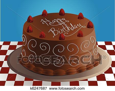 τουρτα γενεθλιων Κλίπαρτ   σοκολάτα, τούρτα γενεθλίων k6247687   Αναζήτηση Clipart  τουρτα γενεθλιων