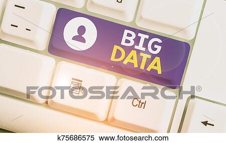 イラスト - 手書き, テキスト, 大きい, data., 概念, 意味, セット, それ, そう, 複合センター, それ, 伝統的である, ソフトウェア, カント, 取引, ∥で∥, それら。. Fotosearch