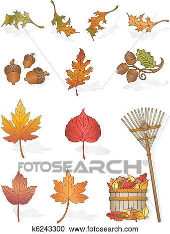 Clipart Herbst Geht K6243300 Suche Clip Art Illustration