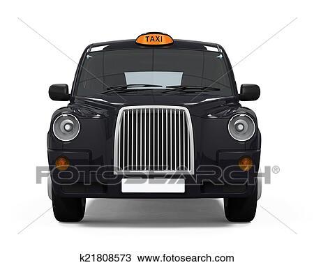 Noir, londres, taxi Dessin | k21808573 | Fotosearch