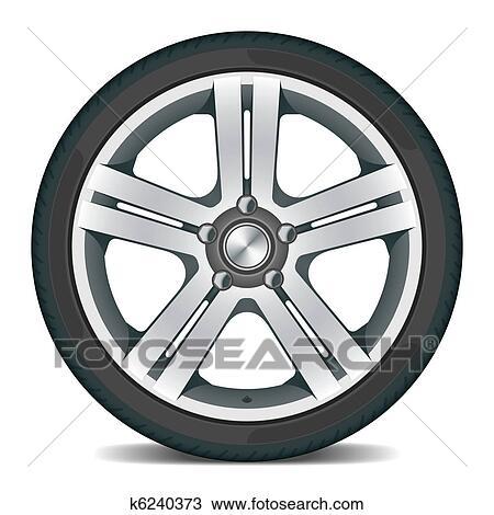 clipart roue voiture k6240373 recherchez des clip arts des illustrations des dessins et. Black Bedroom Furniture Sets. Home Design Ideas
