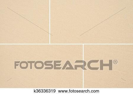 Stock Photograph Of Sand Floor Tile Seamless Background And Texture