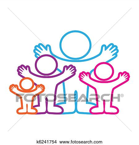 Sign Family Love Disegni K6241754
