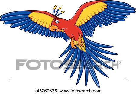 Download Hd Quality Flying Parrot Clipart Png Images Free - Clipart Image  Of Parrot PNG Image with No Background - PNGkey.com