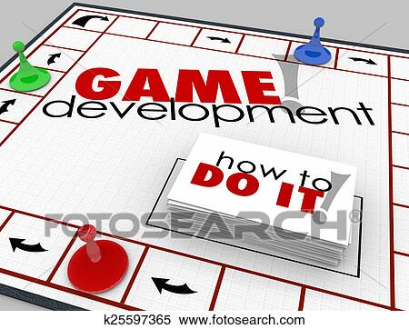 Game Development Board Game How To Learn Software App Programmin Stock Photography K25597365 Fotosearch