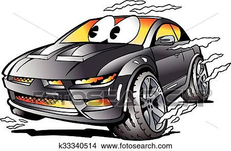 clipart of grey sports car mascot racing k33340514 search clip art rh fotosearch com full circle party band sturgis full circle partners