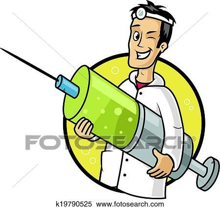 Impfstoff Clipart K19790525 Fotosearch