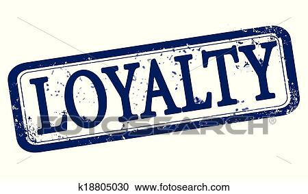 Loyalty Stamp Clipart K18805030