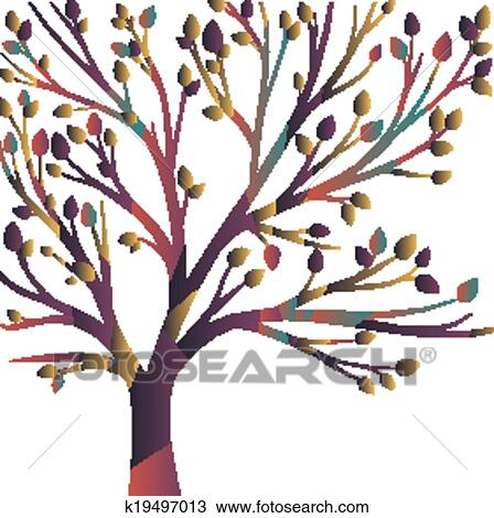Abstract Tree Clipart