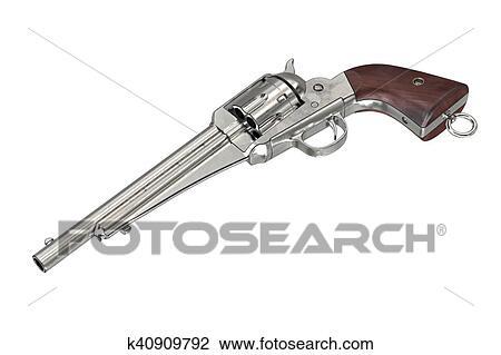Arma Boiadeiro Arma De Fogo Desenho K40909792 Fotosearch
