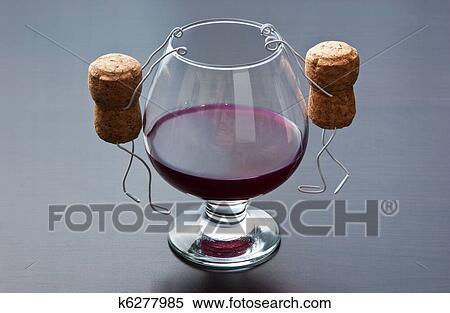 Accrocher le verre