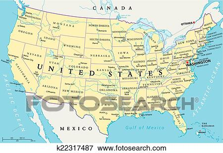 United States of America Map Clip Art | k22317487 | Fotosearch on united states canada map, united states russia map, united states map and oceans, united states pacific coast map, united states great lakes map, united states aleutian islands map, united states world map, rocky mountains map, united states north america map, united states nicaragua map, united states international date line map, united states hawaiian islands map, united states nigeria map, united states arctic map, united states animal map, united states dominican republic map, united states haiti map, united states italy map, united states columbia river map, united states argentina map,