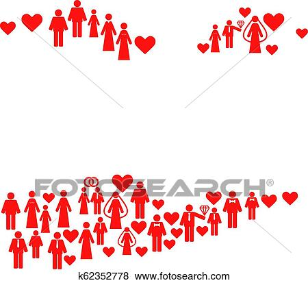 Marriage Persons Mosaic Map of American Virgin Islands Clip Art ...