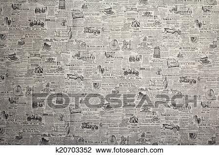 Tapete Zeitung stock foto tapezieren zeitung k20703352 suche