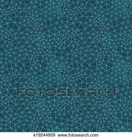 Vector Abstract Background Cool Cell Structure