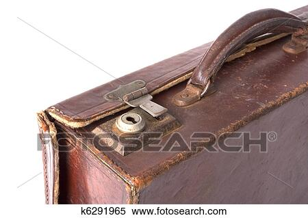 stock image of old suitcase lock k6291965 search stock photos