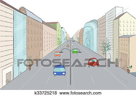 Clip art paesaggio urbano in appartamento disegno for Disegnare un appartamento