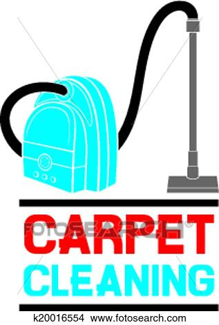 clipart of carpet cleaning service k20016554 search clip art rh fotosearch com